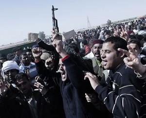 Ribelli antigheddafi libici