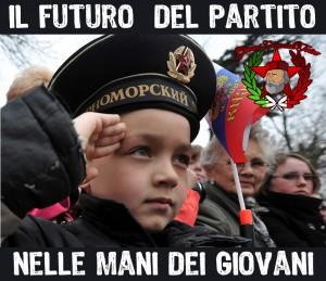 il futuro del partito nelle mani dei giovani