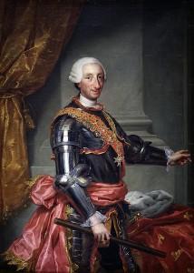 Carlo III re di Napoli e di Spagna