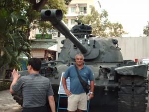 Visita al Museo della Guerra ad Ho Chi Minh City