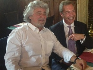 Grillo Nigel Farage