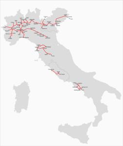 Lo sviluppo delle ferrovie al momento dell'Unità