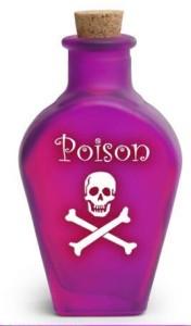 Bottiglia di veleno