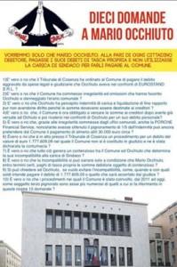 10 domande a Mario Occhiuto