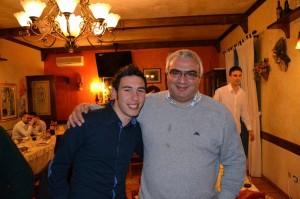 Con Antonio Vetere