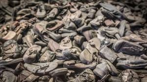 Le scarpe delle vittime dei campi di sterminio nazisti