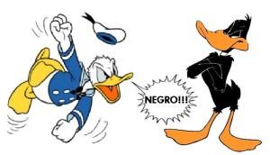 Paperino razzista e Daffy Duck