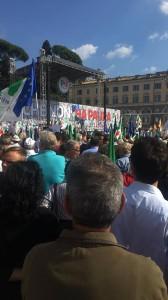 Manifestazione Nazionale l'Italia che non ha paura 15