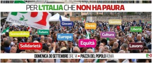 Manifestazione Nazionale l'Italia che non ha paura 2