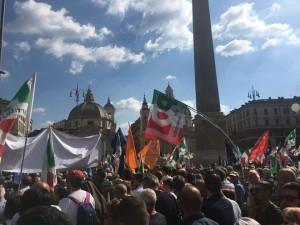 Manifestazione Nazionale l'Italia che non ha paura 6