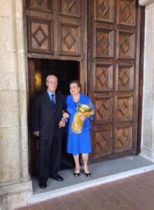50 anni di matrimonio di mio padre e mia madre
