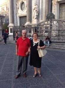 Mamma e papà in Sicilia