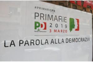 Primarie del PD 3 marzo 2019