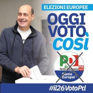 Oggi voto così voto pd
