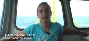 Carola Rackete Capitano della Sea Watch 3