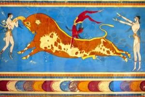 Tauromachia antica Creta