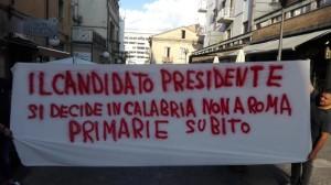 Iniziativa a Via Macallè Cosenza