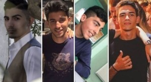 I quattro ragazzi morti a Cosenza