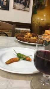 A cena da Il Cugino...