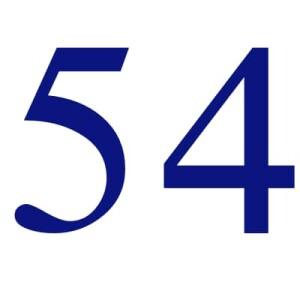 54 aani compiuti