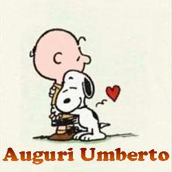 Auguri di buon onomastico Umberto