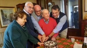 Compleanno di papà, 90 anni
