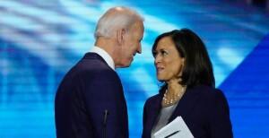 Joe Biden e  Kamala Harris, Presidente e Vicepresidente degli Stati Uniti d'America