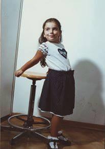 Foto di Barbara da piccola