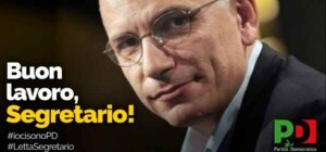 Buon lavoro Segretario Enrico Letta