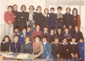 La mia prima media nel 1977